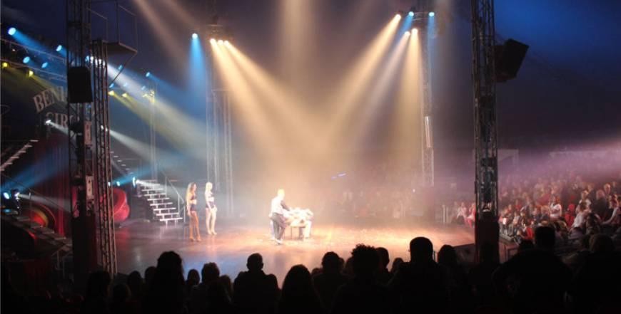 Magic Show at Benidorm Circus