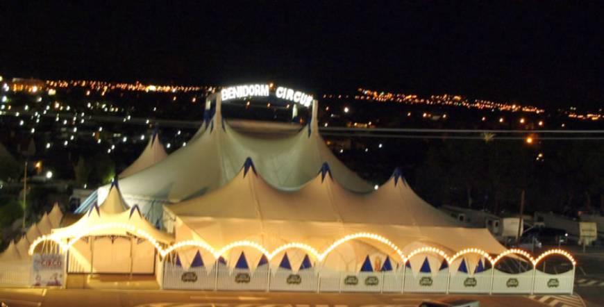 Benidorm Circus Night