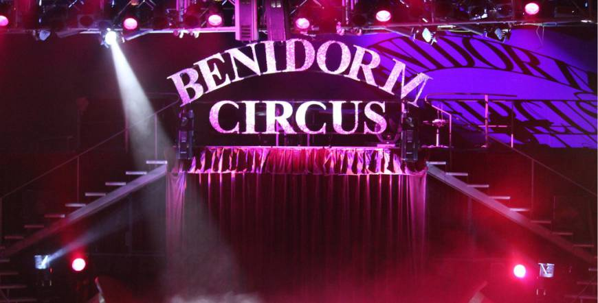 Benidorm Circus Welcome