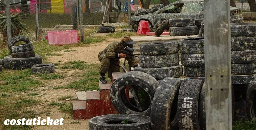 Benidorm Paintball Combat