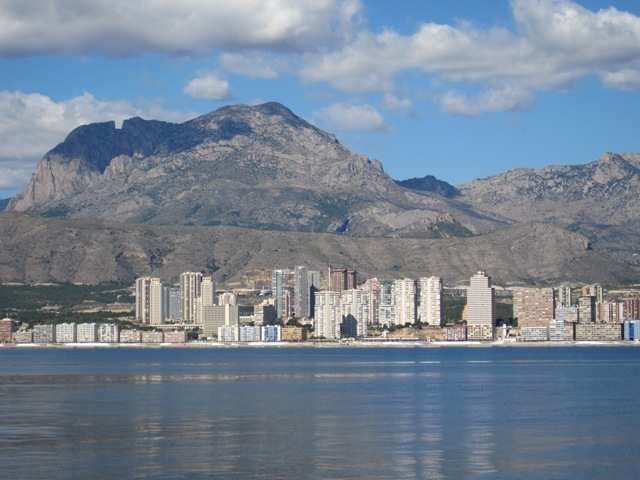 Benidiorm Mountains