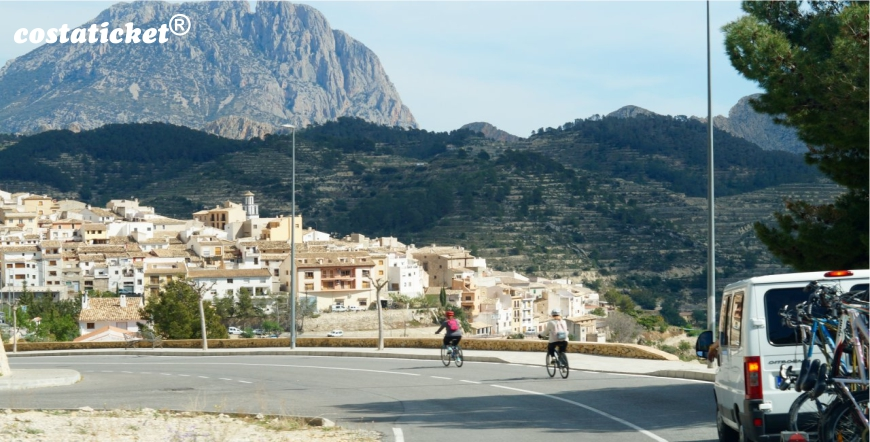 Riding Down the Benidorm Mountains