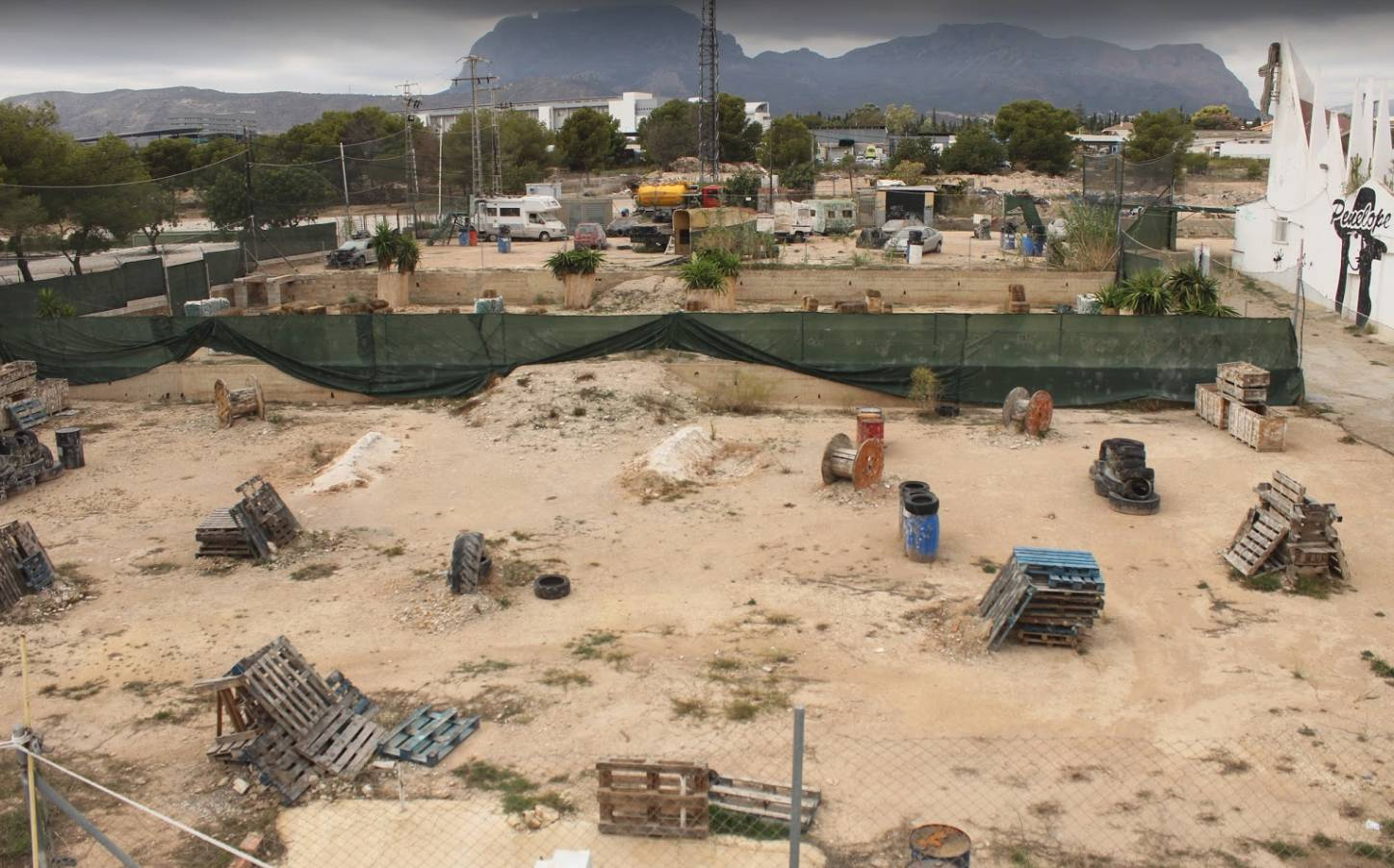 Benidorm Paintball Grounds
