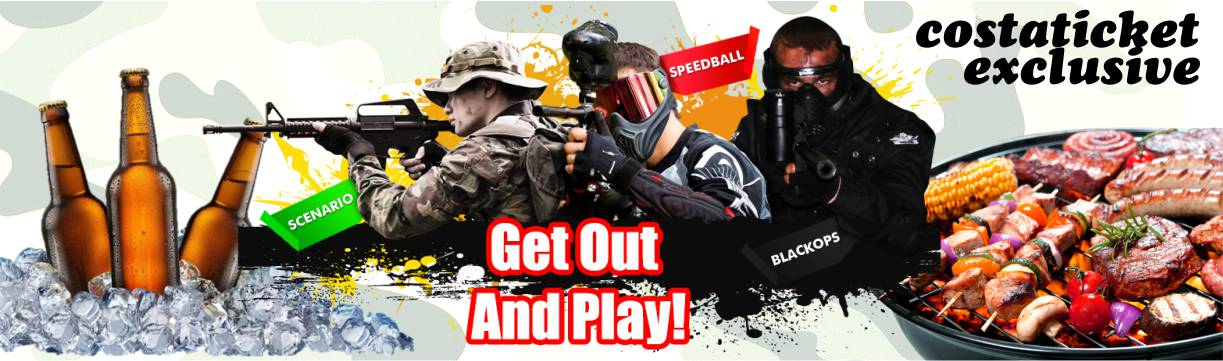 Paintball BBQ Package Package