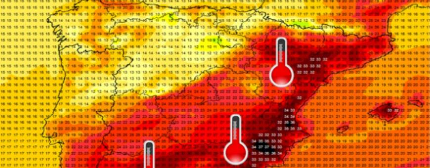 Heatwave is on its way to Spanish Coasts