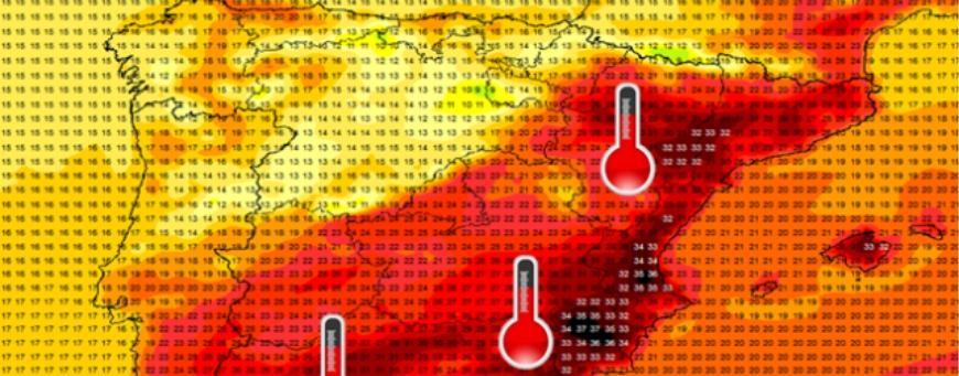 Heatwave is on its way to Spanish Coasts